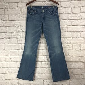 7 For All Mankind Lexie A Pocket Distressed Jeans